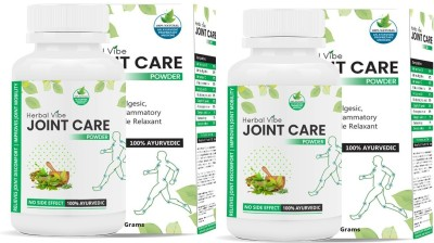 HERBAL VIBE joint Care Powder for Joint Pain Management - 100% Ayurvedic Powder(120 g)