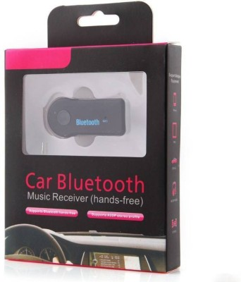 MALON v3.0 Car Bluetooth Device with USB Cable, Audio Receiver, 3.5mm Connector Black MALON Car Bluetooth Devices