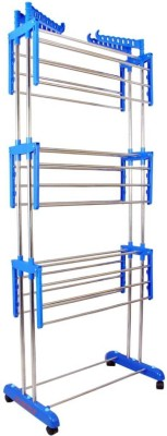 SUNDEX Steel Floor Cloth Dryer Stand best quality777(3 Tier)