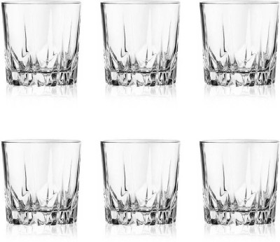 Incrizma Glassware Eiffel Glass Glass Set(Glass, 360, Clear, Pack of 6)