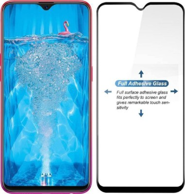 BuyMe Edge To Edge Tempered Glass for Oppo F9, OPPO F9 Pro, Realme 2 Pro, Realme U1, Realme 3 Pro(Pack of 1)