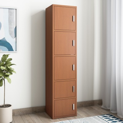 Cello Plastic Free Standing Chest of Drawers(Finish Color - Wood)