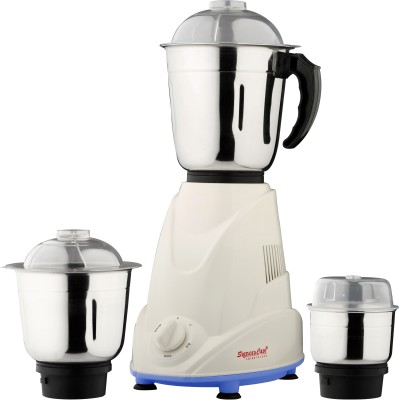 SignoraCare EP3 ECO PLUS 3 500 W Mixer Grinder(Blue, 3 Jars)