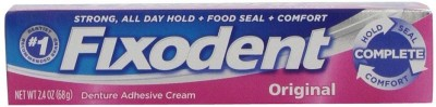 Fixodent Complete Original Denture Adhesive Cream, 2.4 Oz Toothpaste(68 g) at flipkart