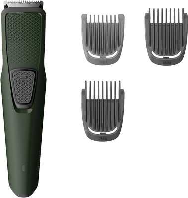 Philips BT1212/15 Cordless Trimmer for Men(Green)