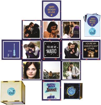 DecuT Lovin Box Handmade Gift Box/Explosion Box for Birthday/Birthday Gift for Girls/Birthday Gift for Girlfriend/Birthday Explosion Box(Multicolor)