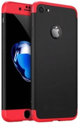 PAKME XUSIVE Front & Back Case for ORIGINAL New 3 in1 Luxury Matte Finish Hybrid Back Gkk Cover Case Apple Iphone 5 / 5S / SE(Red / Black, Dual Protection)