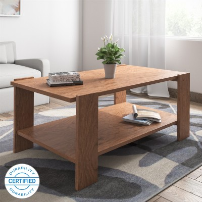 @home by Nilkamal Anna Engineered Wood Coffee Table(Finish Color - Walnut)