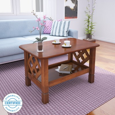 @home by Nilkamal Solid Wood Coffee Table(Finish Color - Walnut)