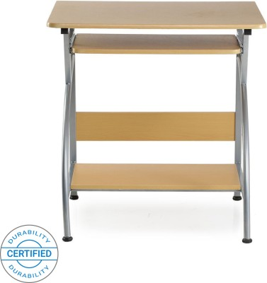 Nilkamal Vibe Engineered Wood Computer Desk(Straight, Finish Color - Beech)
