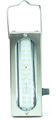 STARDEEP SD 900 PLAIN Lantern Emergency Light(Silver)