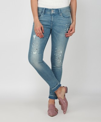 Lee Cooper Slim Women Blue Jeans