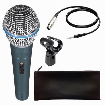 "BOYA By-m1 3.5mm Electret Condenser Microphone with 1/4"" Adapter for Smartphones, Dslr, Camcorders Microphone"