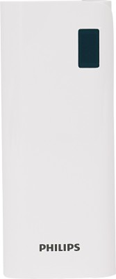 Philips 10000 mAh Power Bank  DLP10016, DLP10016  White, Lithium ion
