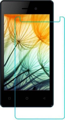 Desirtech Tempered Glass Guard for Karbonn A1 Indian 4G(Pack of 1)