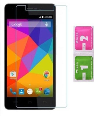 BIZBEEtech Tempered Glass Guard for Micromax Canvas Play Q355(Pack of 1)