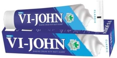 Vi-John Shaving Cream Classical 125GM PACK of 12(125 g)