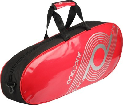 One O One Xhale Collection Single Red   Badminton Kitbag / Tennis Kitbag Kitbag Red, Kit Bag One O One Badminton Bag