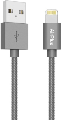 AirPlus 8 Pin Lightning to USB Premium Indestructible  1 meter/ 3.2Feet  Quick Charging   Data Sync 1 m Lightning Cable Compatible with All iPhones  5
