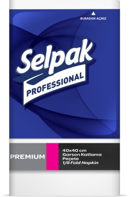 Selpak Dinner Napkin 2ply 50sheets White Napkins(50 Sheets)