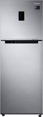 Samsung 324 L Frost Free Double Door 3 Star Convertible Refrigerator Elegant Inox, RT34M5538S8/HL
