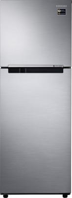 Samsung RT28M3022S8 253 Ltrs 2S Double Door Refrigerator, Elegant Inox