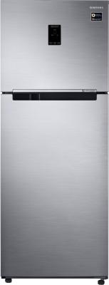 Samsung 415 L Frost Free Double Door 3 Star (2020) Convertible Refrigerator(Elegant Inox / Pet, RT42M553ES8)