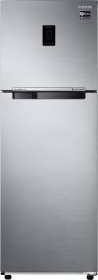 SAMSUNG 345 L Frost Free Double Door 3 Star Convertible Refrigerator Elegant Inox, RT37M5518S8/HL SAMSUNG Refrigerators
