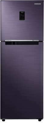 Whirlpool 260 L Frost Free Triple Door Refrigerator(Alpha Steel (N), FP 283D PROTTON ROY ALPHA STEEL (N))