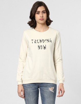 Provogue Full Sleeve Printed Women Sweatshirt at flipkart