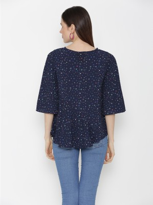 Ans Fab Casual 3/4th Sleeve Floral Print Women
