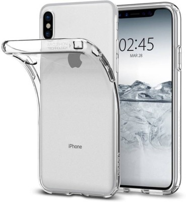 Rosaline Back Cover for Apple iPhone XS, Case Cover(Transparent, Grip Case)