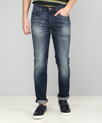 Levi's Slim Men Blue Jeans at flipkart
