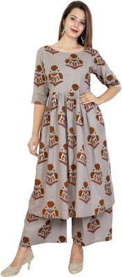 Zoeyams Casual Embroidered Women Kurti(Multicolor)