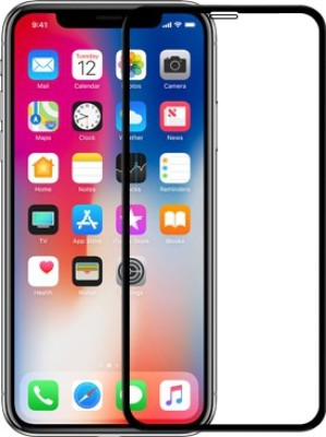Nillkin Edge To Edge Tempered Glass for Apple iPhone X(Pack of 1)