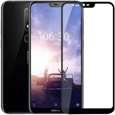 Krkis Tempered Glass Guard for Nokia 6x(Pack of 1)