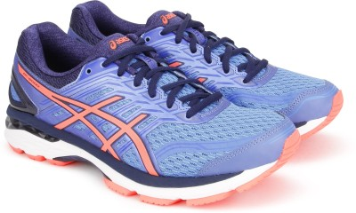 Asics GT-2000 5 (D) Running Shoes For Women(Blue) at flipkart
