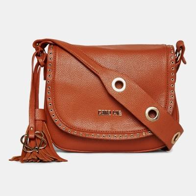 Cara Mia Brown Sling Bag at flipkart