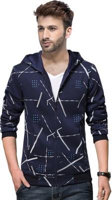 ABSURD Full Sleeve Striped Men Sweatshirt