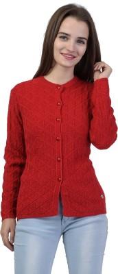 Metronaut Women Button Solid Cardigan