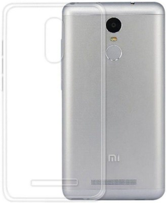 anjalicreations Back Cover for Mi Redmi Note 3 Transparent