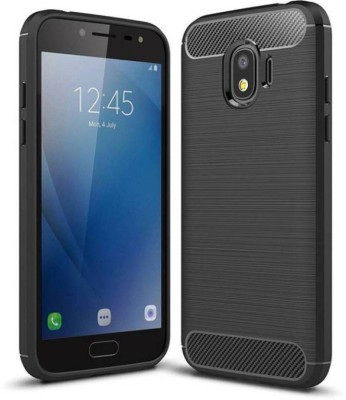 SRT Back Cover for Samsung J2 Core(Black, Rubber, Plastic)