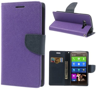 COVERNEW Flip Cover for Samsung Galaxy J5   6  New 2016 Edition  Purple COVERNEW Plain Cases   Covers