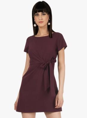 SGF Women Shift Maroon Dress