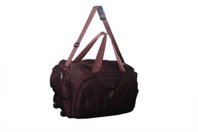 B W  Expandable  WheelPurple 020 Travel Duffel Bag Purple