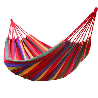 P-PLUS INTERNATIONAL Outdoor Hang Bed Camping Cotton Small Swing(Red, DIY(Do-It-Yourself))