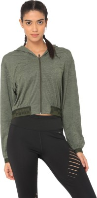 Puma Full Sleeve Solid Women Jacket at flipkart