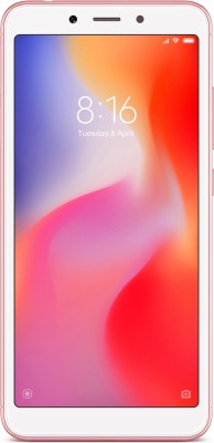 Redmi 6 (Rose Gold, 32 GB)(3 GB RAM)