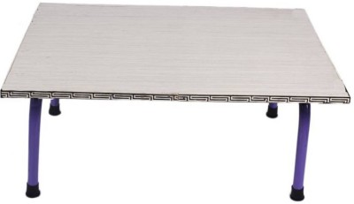 Silverline International Engineered Wood Portable Laptop Table(Finish Color - WHITE)