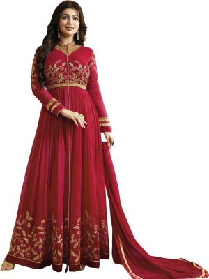 Ethnic Yard Anarkali Gown(Red) Flipkart